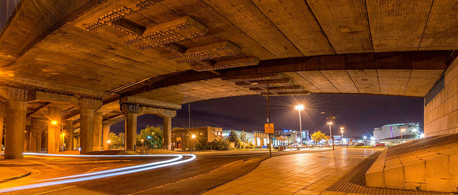bridge-underside-night-road-concrete-