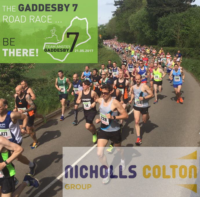 Team Anstey Gaddesby 7 Mile Sponsored by Nicholls Colton